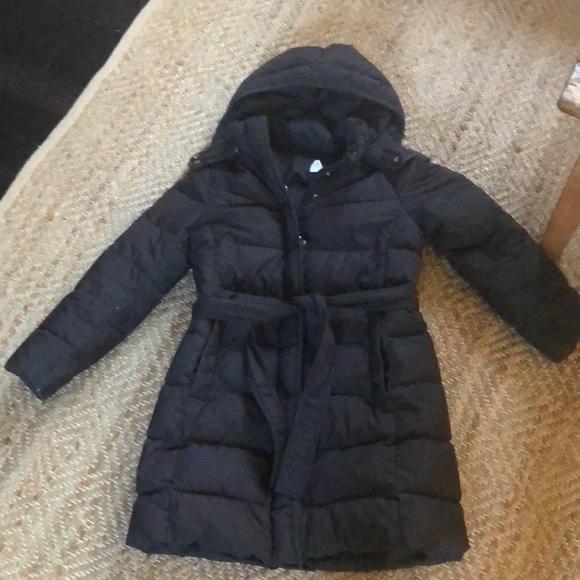 5f7cfac8a Jcrew mercantile tie-waist puffer jacket